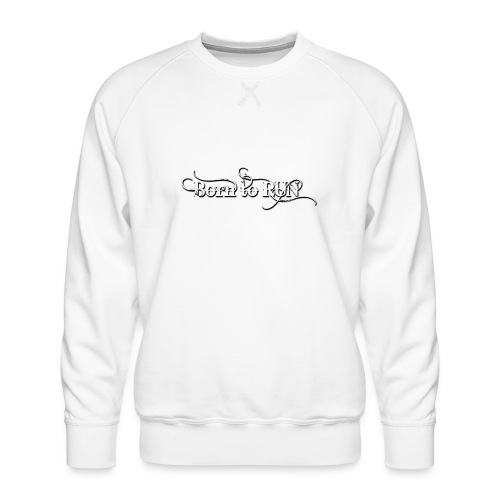 Born-to-RUN---Logo---White.png - Männer Premium Pullover