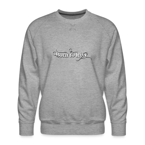 Born-to-RUN---Logo---White.png - Männer Premium Pullover