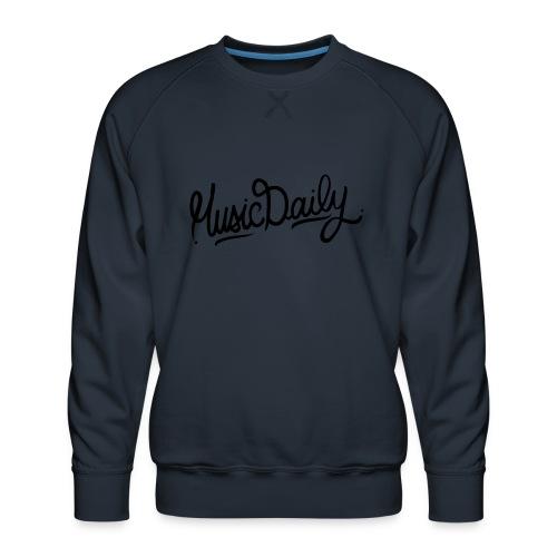 MusicDaily Logo - Mannen premium sweater