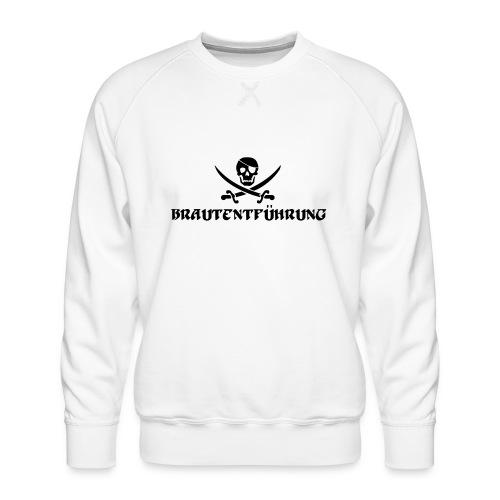 Brautentführung Piratenflagge Junggesellinnen - Männer Premium Pullover