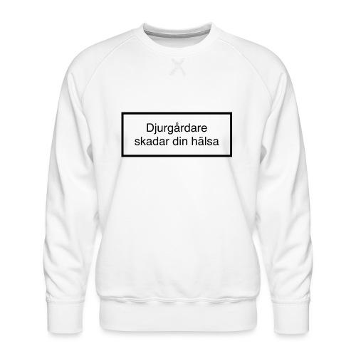 Djurgården Varningstext - Premiumtröja herr