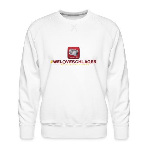 WeLoveSchlager de - Männer Premium Pullover