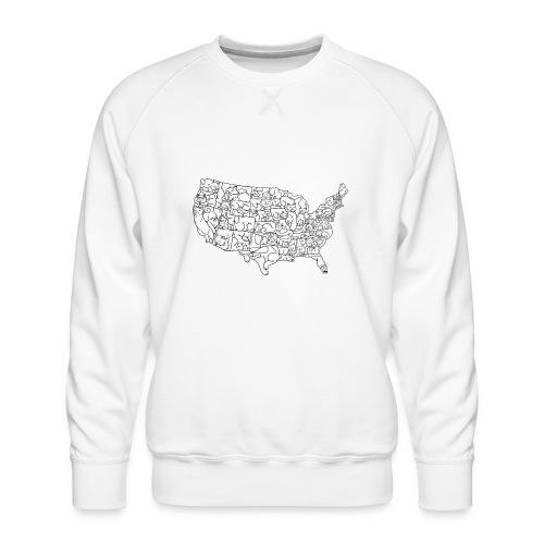 UNITED CATS OF AMERICA - Bluza męska Premium