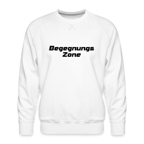 Begegnungszone - Männer Premium Pullover