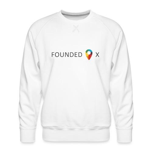 FoundedX logo png - Men's Premium Sweatshirt