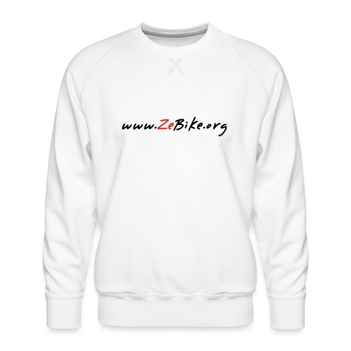 wwwzebikeorg s - Sweat ras-du-cou Premium Homme