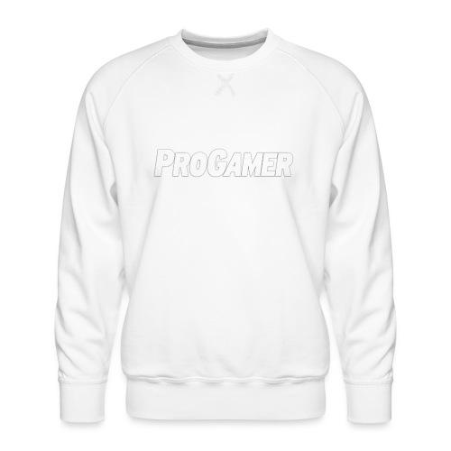 progamers merchandise - Herre premium sweatshirt