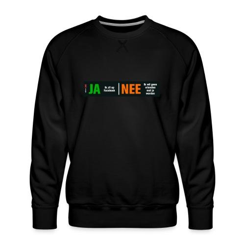 facebookvrienden - Mannen premium sweater