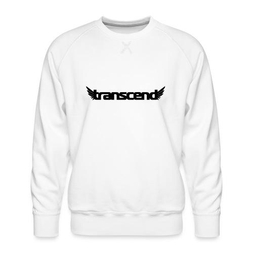Transcend Mug - Black Print - Men's Premium Sweatshirt