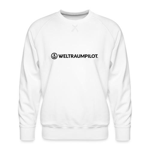 weltraumpilotquer - Männer Premium Pullover