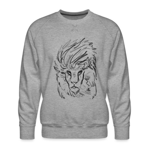 Lion - Men's Premium Sweatshirt