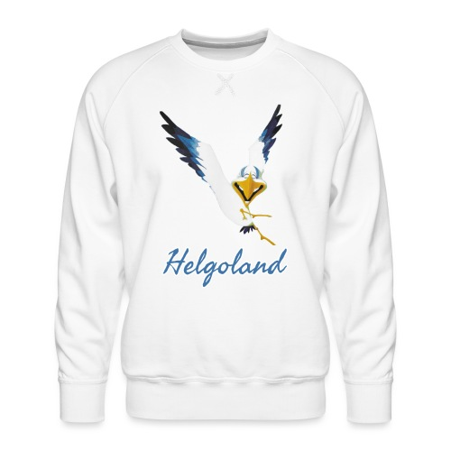 Lachmöwe Helgoland - Männer Premium Pullover