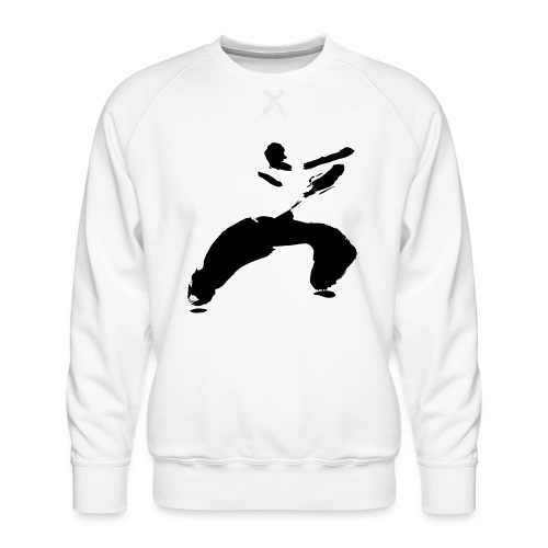 kung fu - Men's Premium Sweatshirt