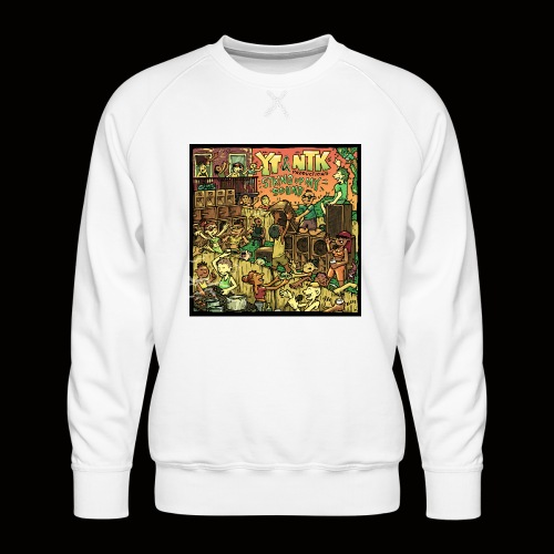 String Up My Sound Artwork - Men's Premium Sweatshirt