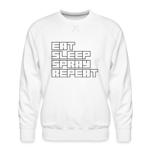 EATSLEEPSPRAYREPEAT - Men's Premium Sweatshirt