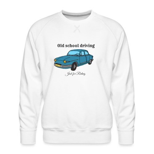 Old school driving - Sweat ras-du-cou Premium Homme