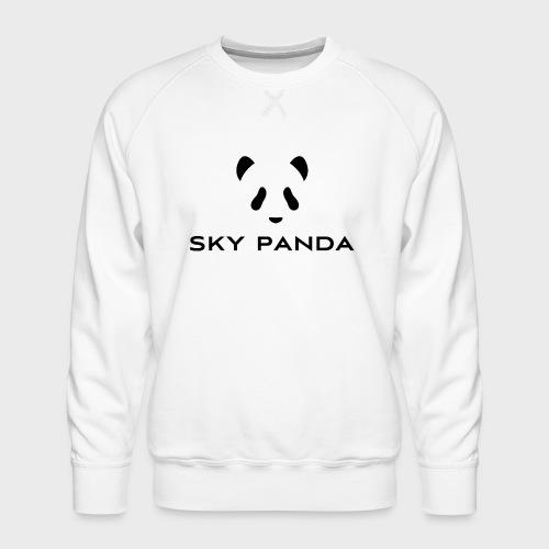 Sky Panda Logo - Männer Premium Pullover