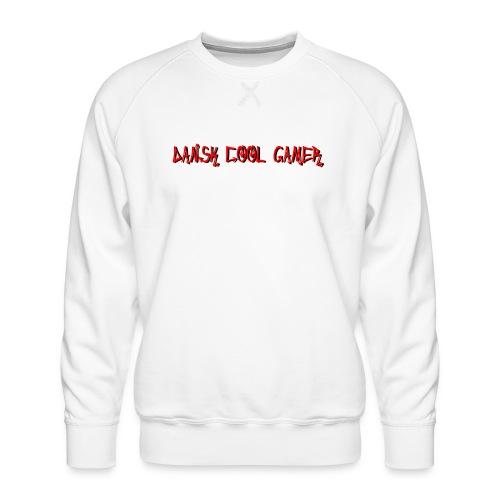 Dansk cool Gamer - Herre premium sweatshirt