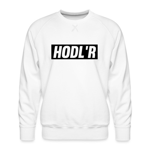 HODL'R - For the real crypto fans - Mannen premium sweater