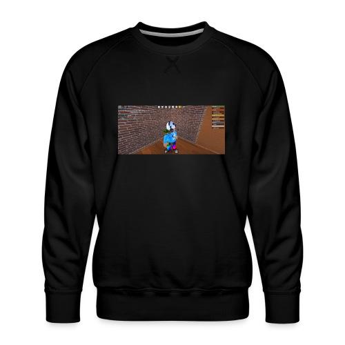 panda time - Men's Premium Sweatshirt