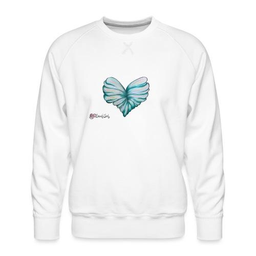 Verleih deinem Herzen Flügel - Männer Premium Pullover