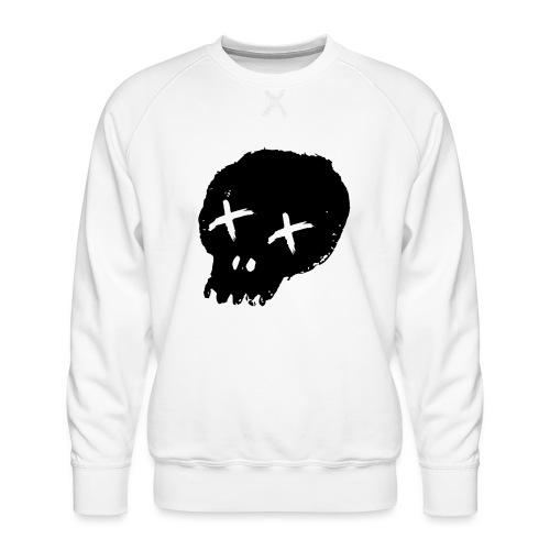 blackskulllogo png - Men's Premium Sweatshirt