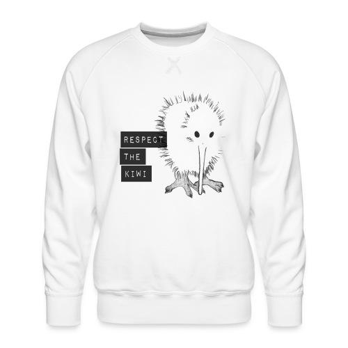 Respect the Kiwi - Männer Premium Pullover