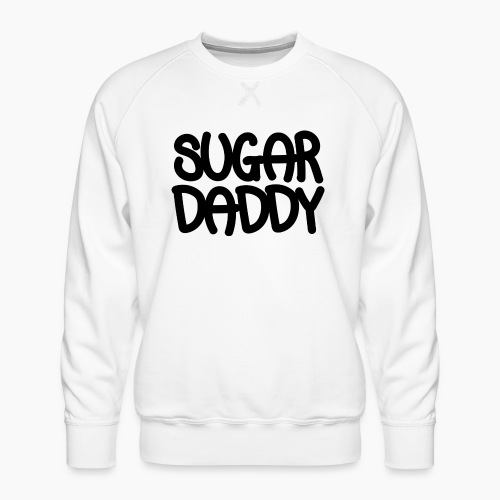 Sugar Daddy Zwart - Mannen premium sweater
