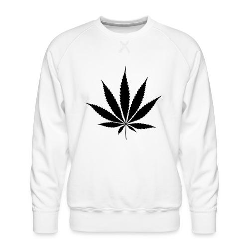 Weedblatt - Men's Premium Sweatshirt