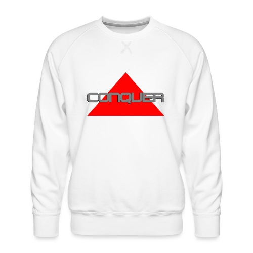 Conquer, by SBDesigns - Sweat ras-du-cou Premium Homme