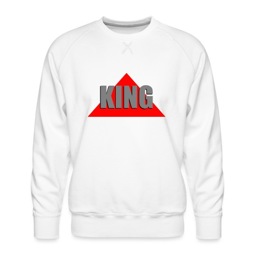 King, by SBDesigns - Sweat ras-du-cou Premium Homme