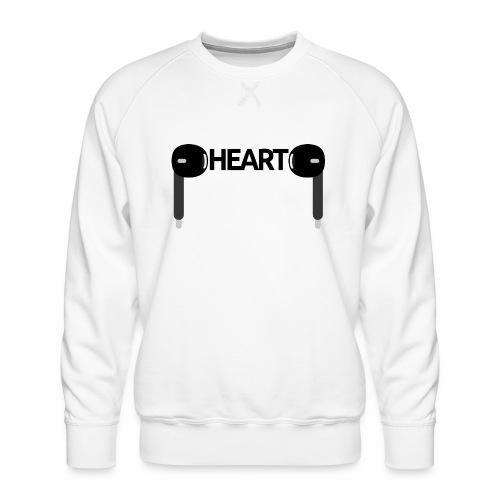 ListenToYourHeart - Bluza męska Premium