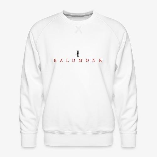 Baldmonk Classic Logo - Men's Premium Sweatshirt