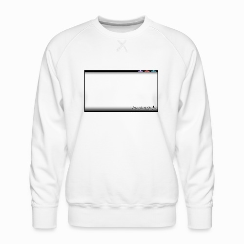 The Scots Review GO LIVE! Logo - Men's Premium Sweatshirt