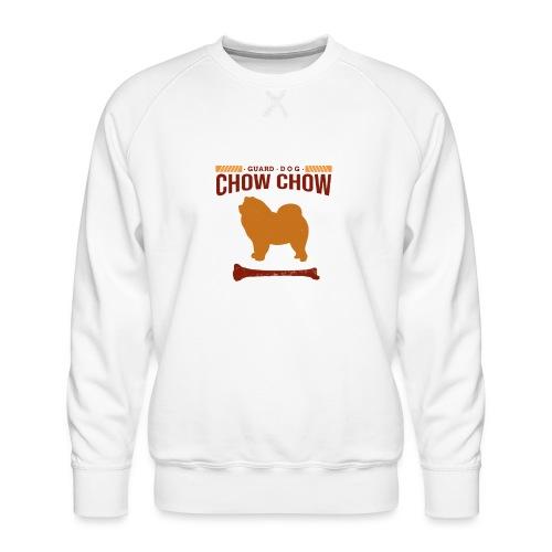Chow chow hond design voor hondenliefhebbers - Mannen premium sweater