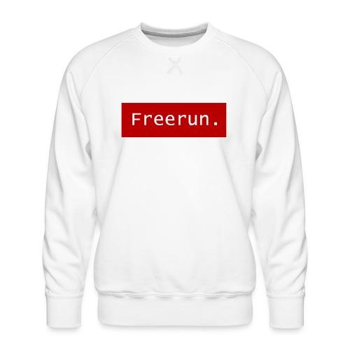 Freerun. - Mannen premium sweater