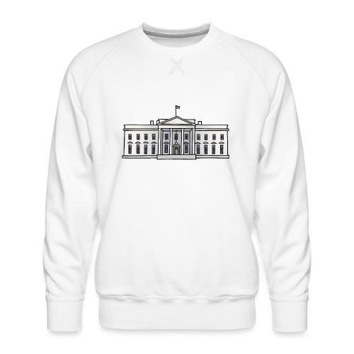 Weiße Haus Washington DC - Männer Premium Pullover