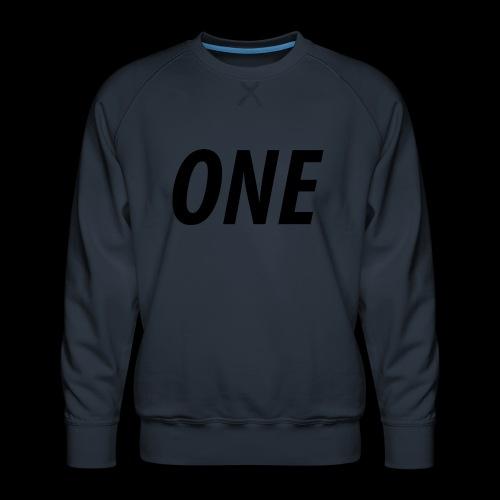 WEAREONE x LETTERS - Mannen premium sweater
