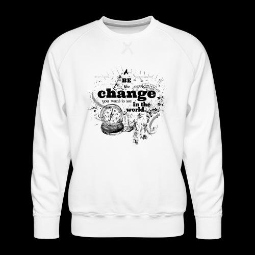 Be the change - Männer Premium Pullover