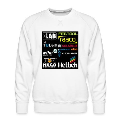 tshirt 2 rueck kopie - Men's Premium Sweatshirt