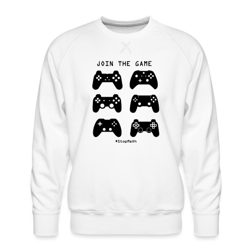 Join The Game - Men's Premium Sweatshirt