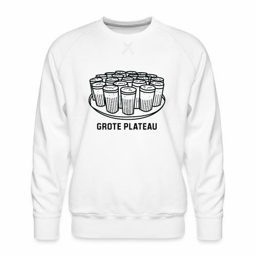 Grote Plateau - Mannen premium sweater