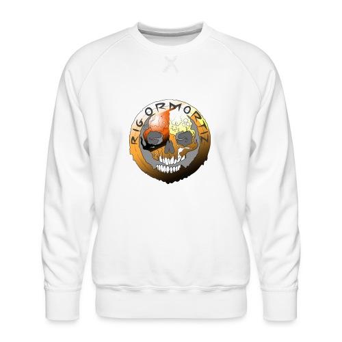Rigormortiz Metallic Orange Design - Men's Premium Sweatshirt
