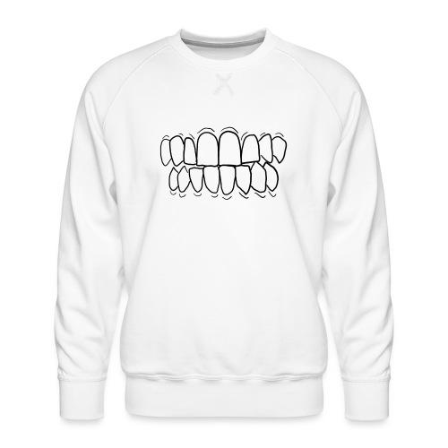 TEETH! - Men's Premium Sweatshirt