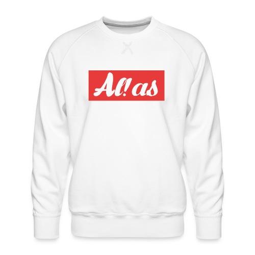 Al!as - Herre premium sweatshirt