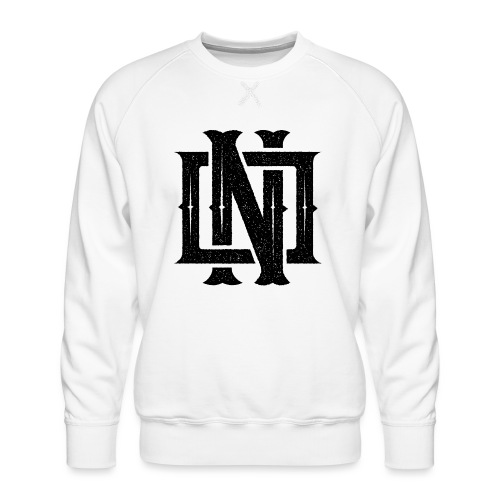 Nineone Monogram NO 01 black - Männer Premium Pullover