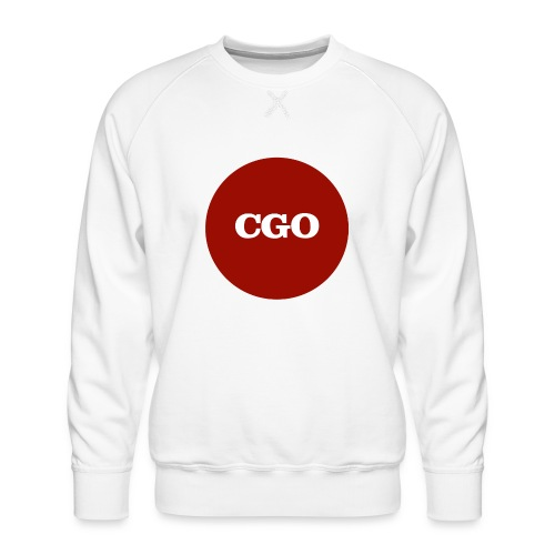 watermerk cgo - Mannen premium sweater