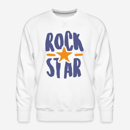 rock star - Männer Premium Pullover