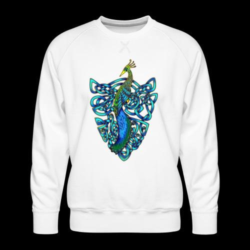 Peacock - Men's Premium Sweatshirt