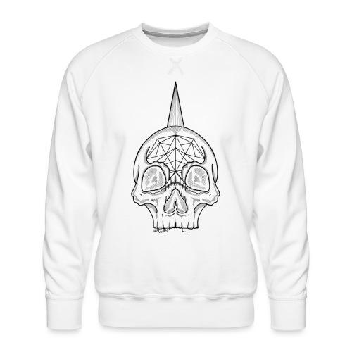 Skull head - Sweat ras-du-cou Premium Homme